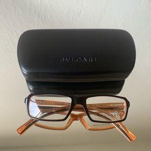 Bulgari Glasses - Black